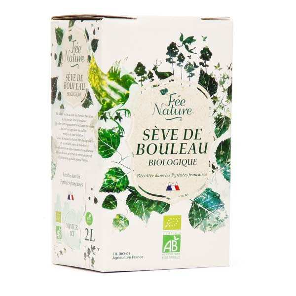 Sève de bouleau bio en bag-in-box 2L