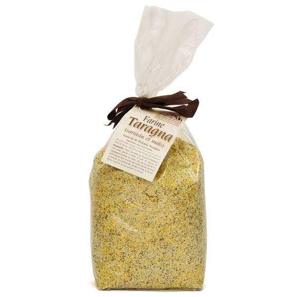 Farine Taragna italienne maïs et sarrasin moulue à la pierre