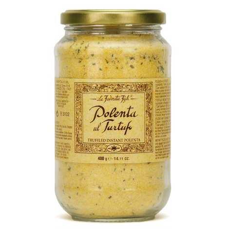 La Favorita - Polenta aux truffes d'été italienne