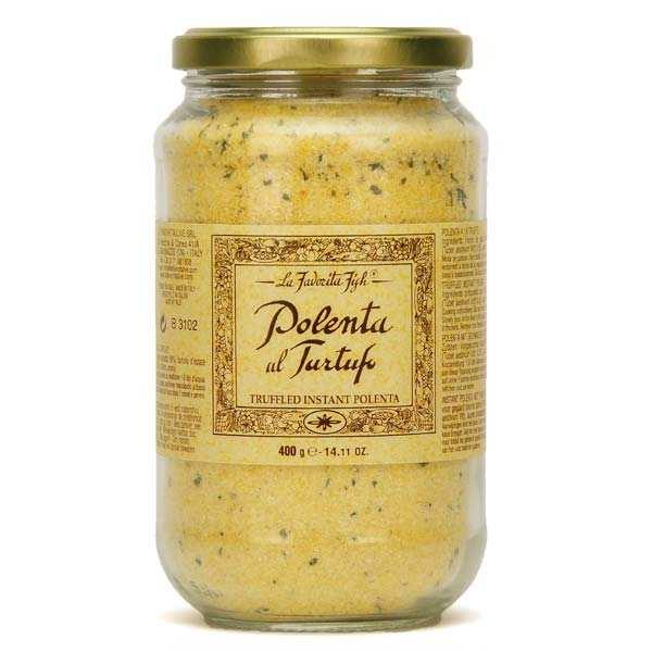 Polenta aux truffes d'été italienne