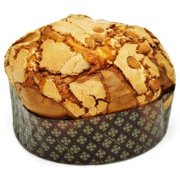 Hazelnuts and Almonds Panettone