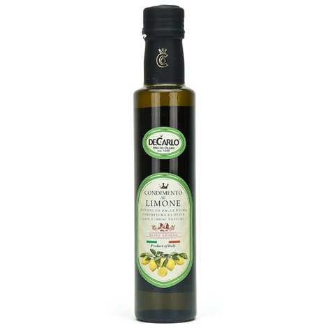 De Carlo - Huile d'olive extra vierge au citron frais