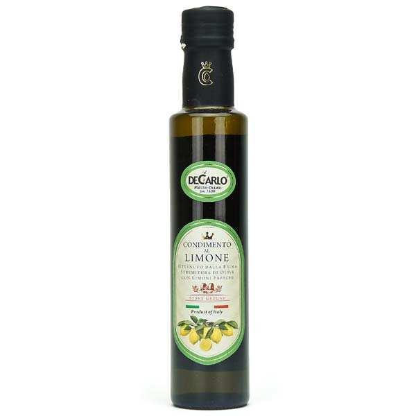 Extra VIrgin Olive Oil with Fresh Lemon