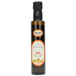 De Carlo - Huile d'olive extra vierge à la mandarine fraîche