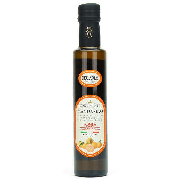 Huile d'olive extra vierge à la mandarine fraîche