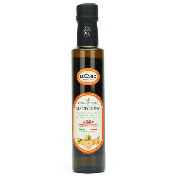 Extra virgin Olive Oil with Fresh Mandarin