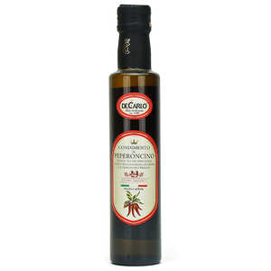De Carlo - Huile d'olive extra vierge au piment