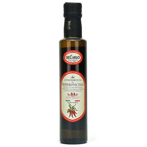 De Carlo - Extra Virgin Olive Oil with Chilli Pepper