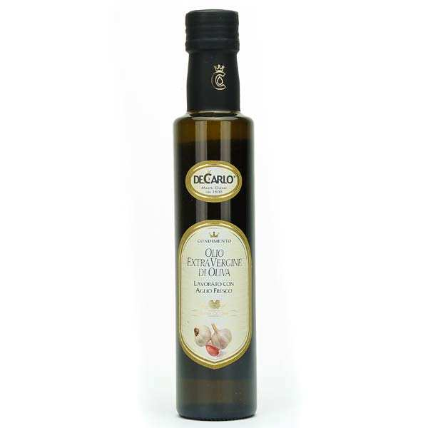 Extra Virgin Olive Oil with Fresh Garlic