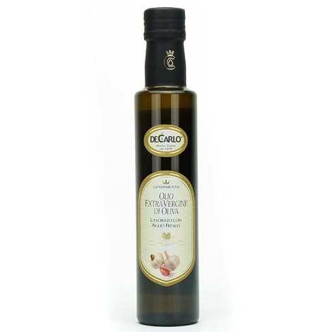 De Carlo - Huile d'olive extra vierge à l'ail frais