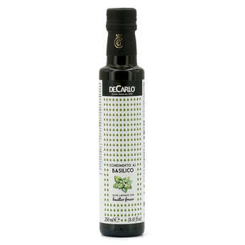 De Carlo - Extra Virgin Olive Oil with Fresh Basil