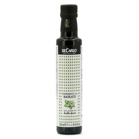 De Carlo - Extra Virgin Olive Oil with Fresh Basil