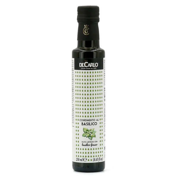 Extra Virgin Olive Oil with Fresh Basil