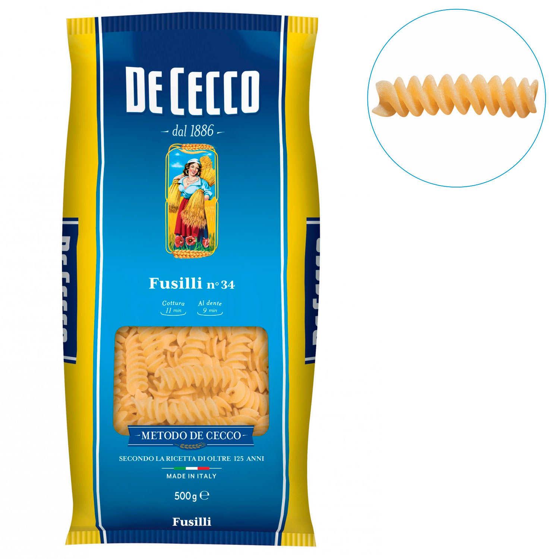 Fusilli by De Cecco