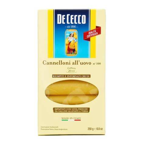 De Cecco - Cannelloni n°100 aux oeufs De Cecco