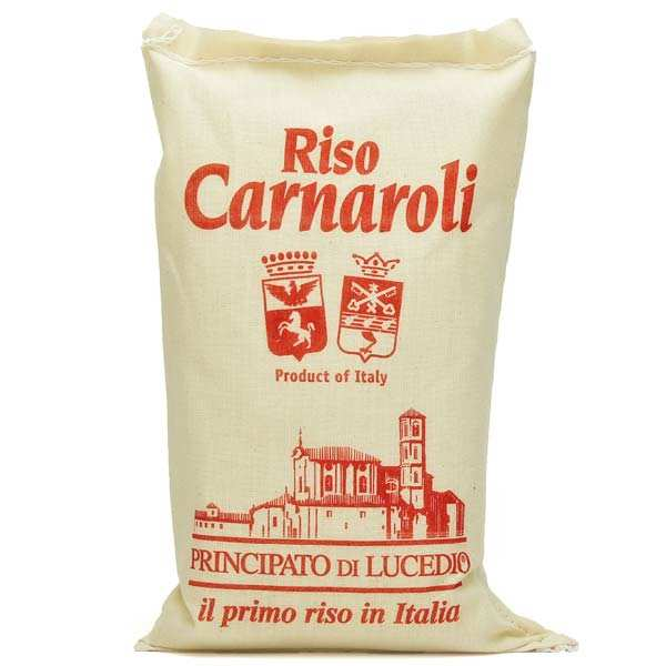 Riz carnaroli italien