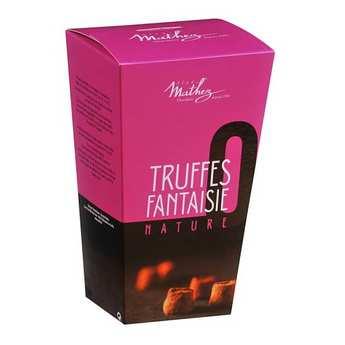 Chocolat Mathez - Nature Truffles Happy box