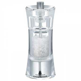 Zassenhaus - Moulin à sel acrylique tête céramique 14cm
