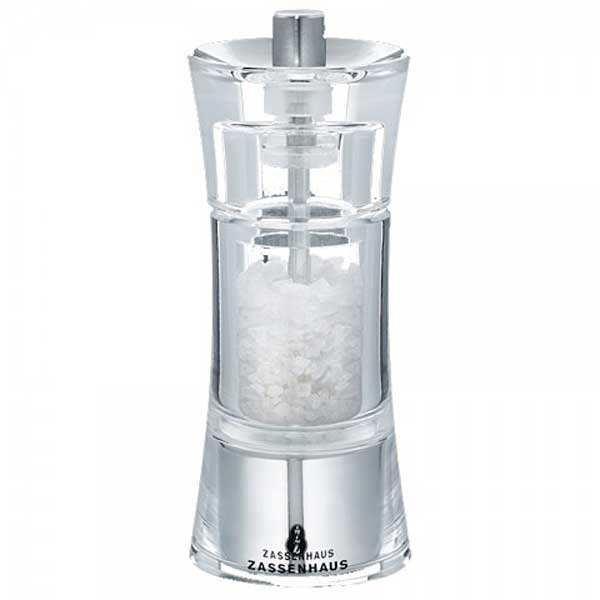 Moulin à sel acrylique tête céramique 14cm - moulin sel