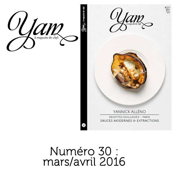 French magazine about cuisine - YAM n°30