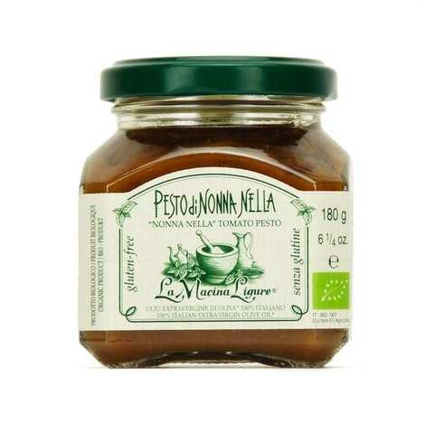 La Macina Ligure - Pesto rouge bio aux tomates fraîches de Ligurie