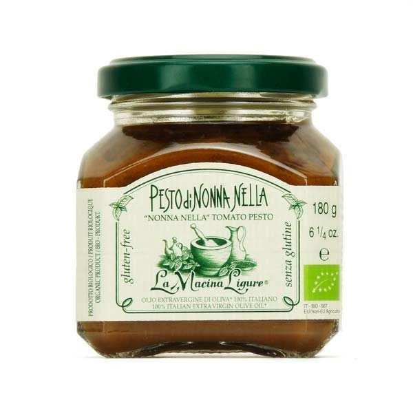 Pesto rouge bio aux tomates fraîches de Ligurie