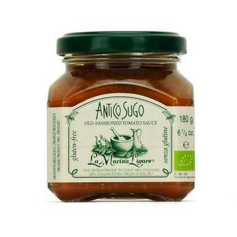 La Macina Ligure - Sauce tomate italienne aux pignons bio
