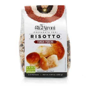 Gli Aironi - Risotto aux champignons