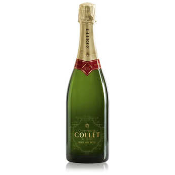 Champagne Collet - Champagne Collet Brut Art Deco