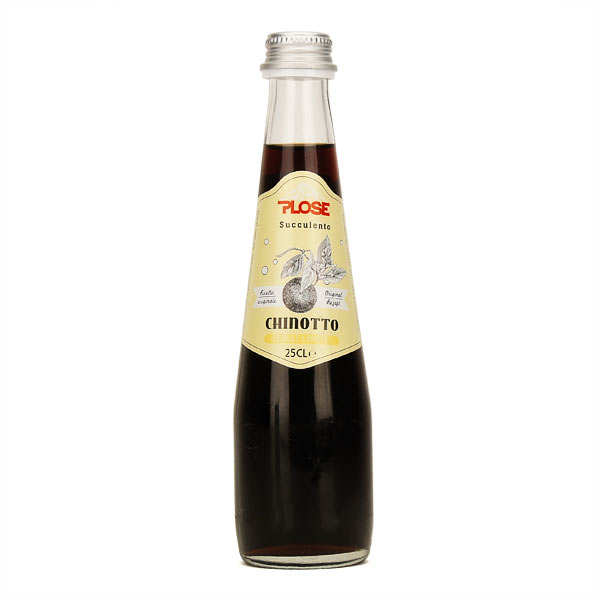 Chinotto - soda italien - lot de 6 bouteilles de 25cl