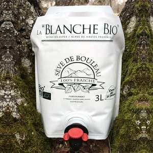 La Blanche Bio - Fresh birch sap from lozère