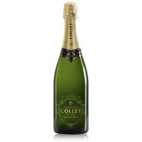 Champagne Collet - Raoul Collet Carte d'or vintage champagne