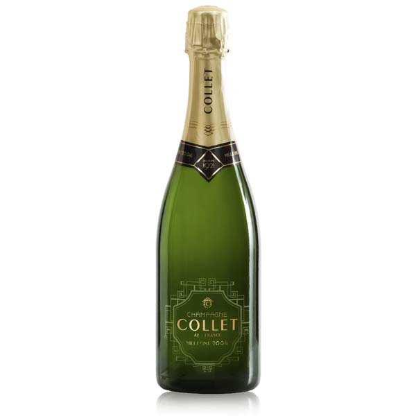 Champagne Collet Brut Millésimé - 2000 - la bouteille de 75cl