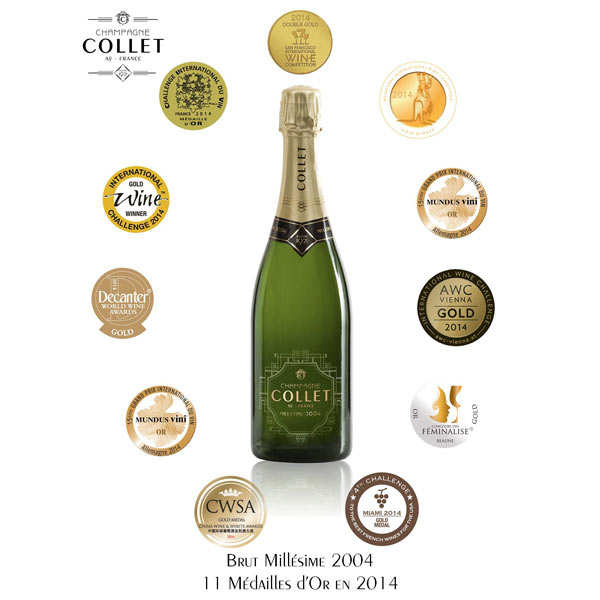 Raoul Collet Carte d'or vintage champagne