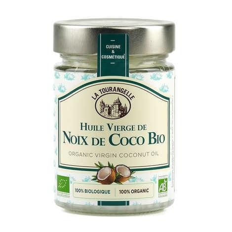 La Tourangelle - Huile vierge de noix de coco bio