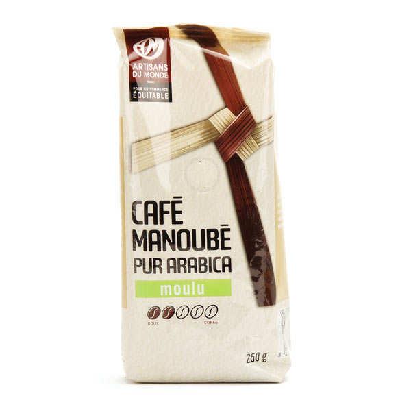 Pure Arabica coffee manoubé grounds