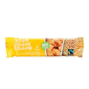 Oxfam Fairtrade - Organic Sesame Bar