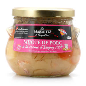 La Chaiseronne - Mijoté de porc à la crème d'Isigny et au cidre de Normandie