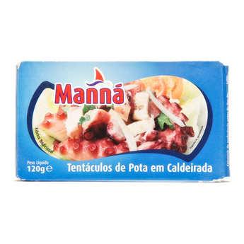 Manna gourmet - Poulpe à la sauce tomate portugaise