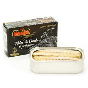 Manna gourmet - Filets de maquereau à la portugaise