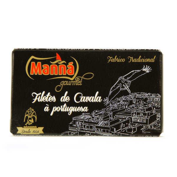 Filets de maquereau à la portugaise