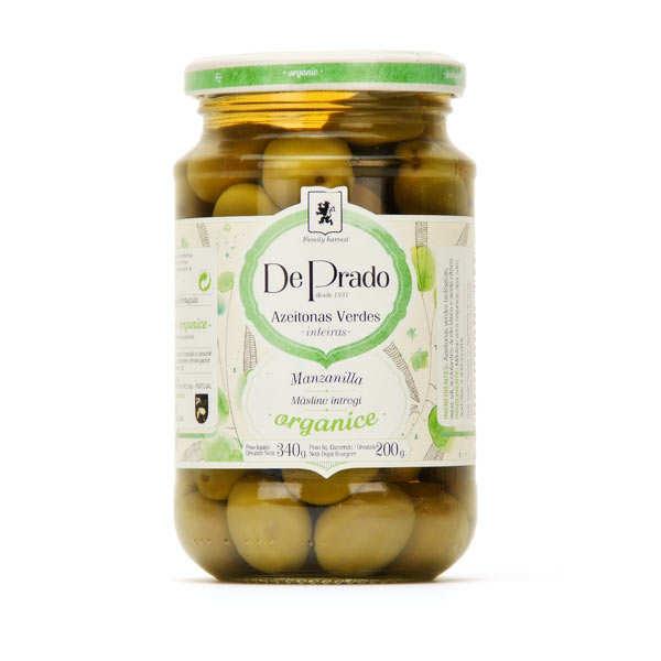 Olives vertes bio portugaises