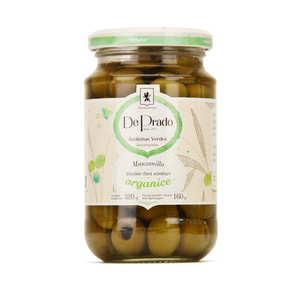 De Prado - Organic Green Portuguese Pitted Olive