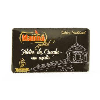 Manna gourmet - Maquereaux du Portugal à l'huile d'olive