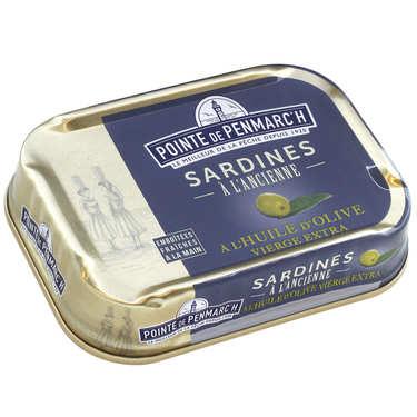 Sardines à l'ancienne à l'huile d'olive vierge extra