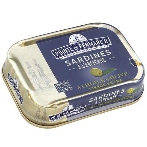 La pointe de Penmarc'h - Sardines à l'ancienne à l'huile d'olive vierge extra