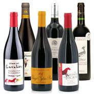 BienManger paniers garnis - Offre découverte Plaisir - 6 vins rouges bio