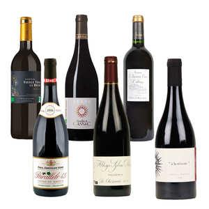 BienManger paniers garnis - Offre découverte Prestige - 6 vins rouges bio