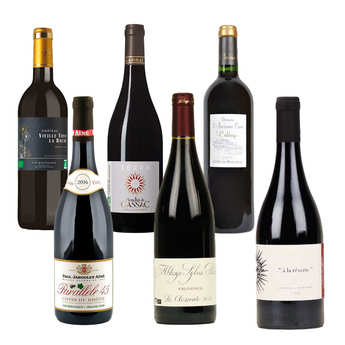 - 6 Premium Organic Red Wines from France