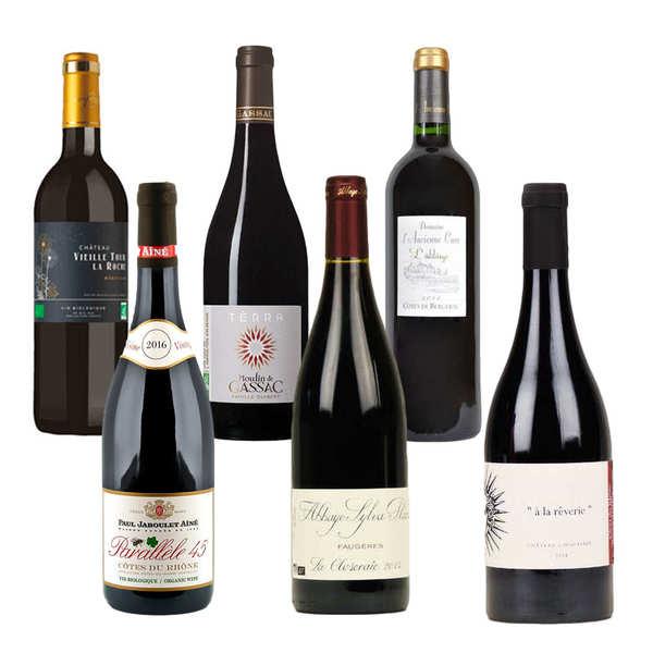 Offre découverte Prestige - 6 vins rouges bio